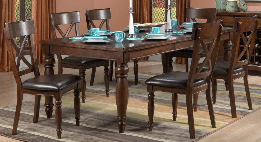 Kingston Dining Room 7 Pc Dining Set Leons Our New Home