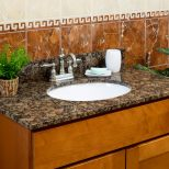 Lesscare Bathroom Vanity Tops Granite Tops Balticbrown