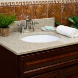 Lesscare Bathroom Vanity Tops Granite Tops Wheat Vanity