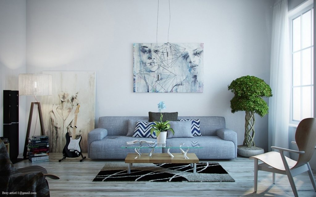 Living Room Art Plans Livingroom Wonderful Modern Contemporary Ideas
