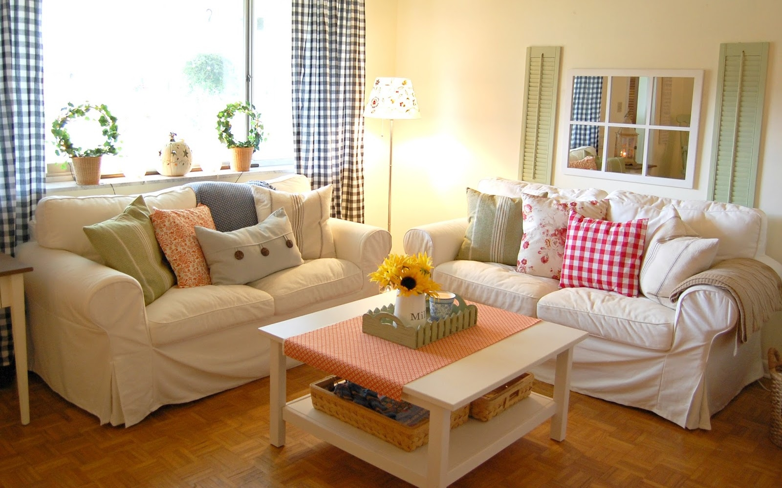 Living Room Country Decorating Ideas Peenmediacom Decorating Layjao