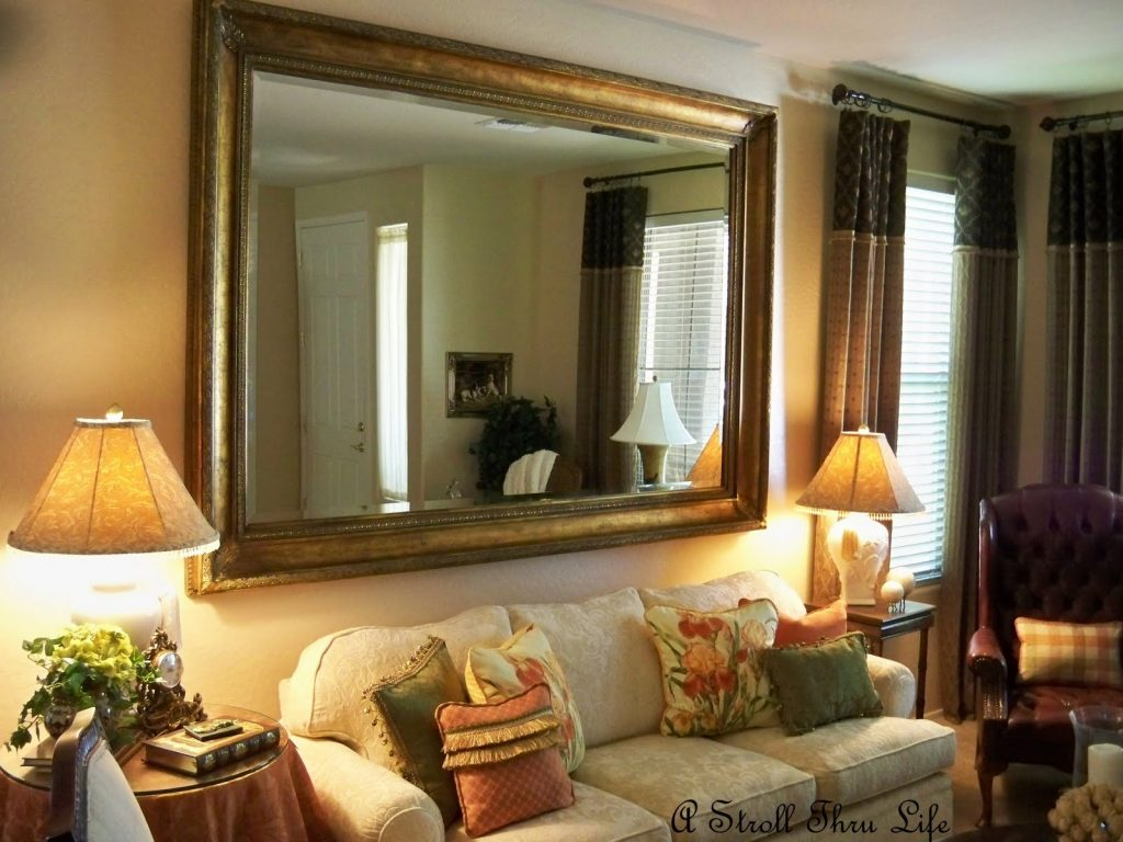 Living Room Designs Big Decorative Wall Mirrors Design Mirrors