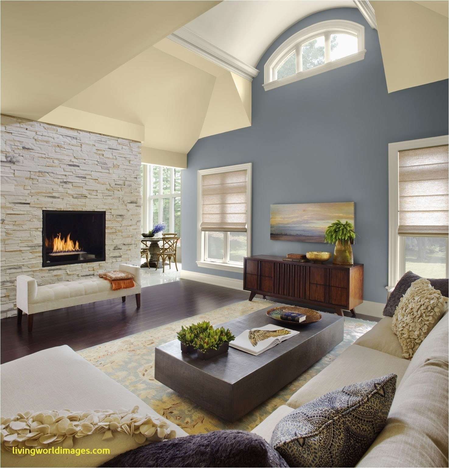 Living Room With Vaulted Ceilings Decorating Ideas Remarkable Unique Layjao