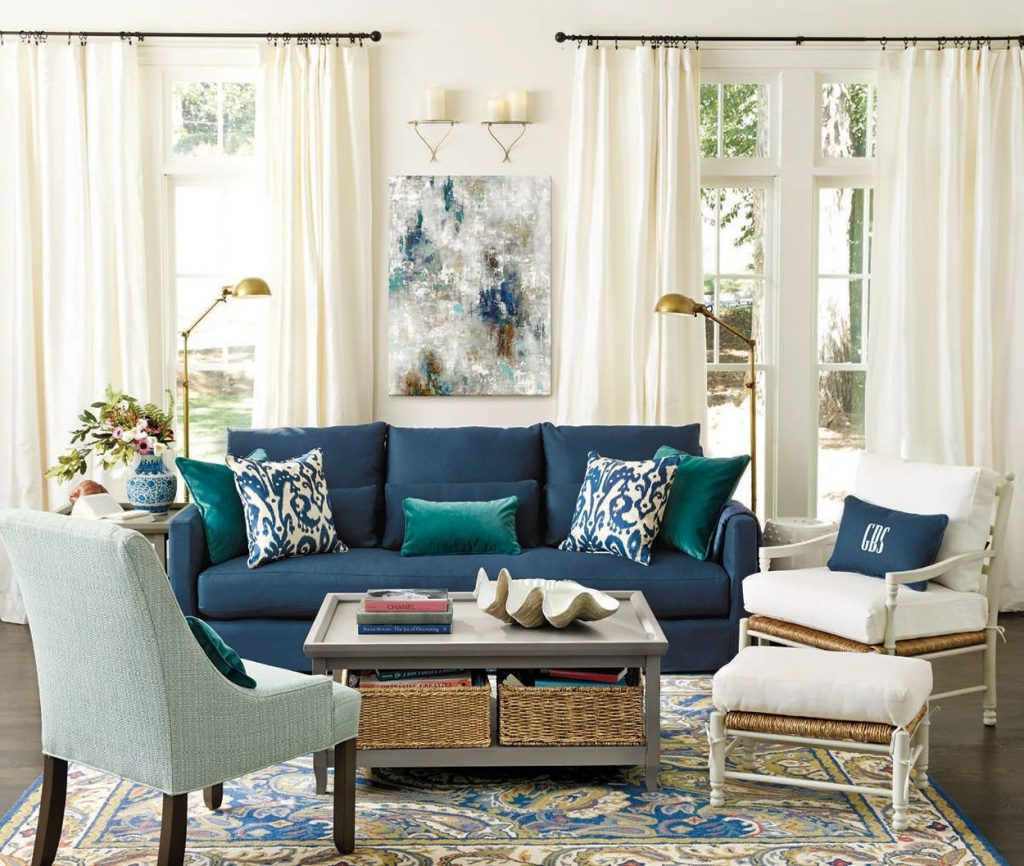 Living Rooms Blue Living Pinterest Room Living Room And Home