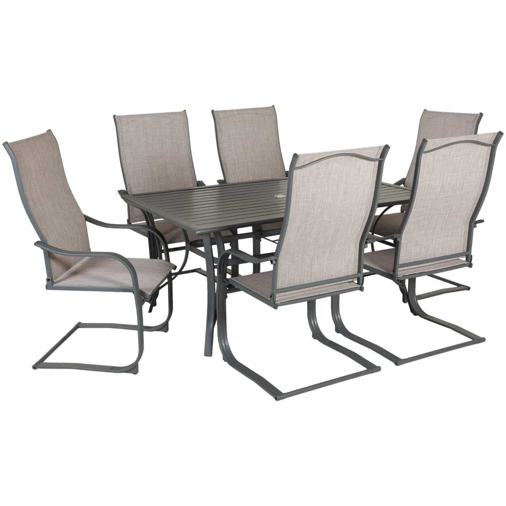 Lucca 7 Piece Patio Dining Set Luc 02 World Source International