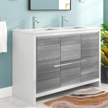 Mercury Row Bosley 48 Double Sink Modern Bathroom Vanity Reviews