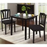 Metropolitan 3 Piece Dining Set Multiple Finishes Walmart
