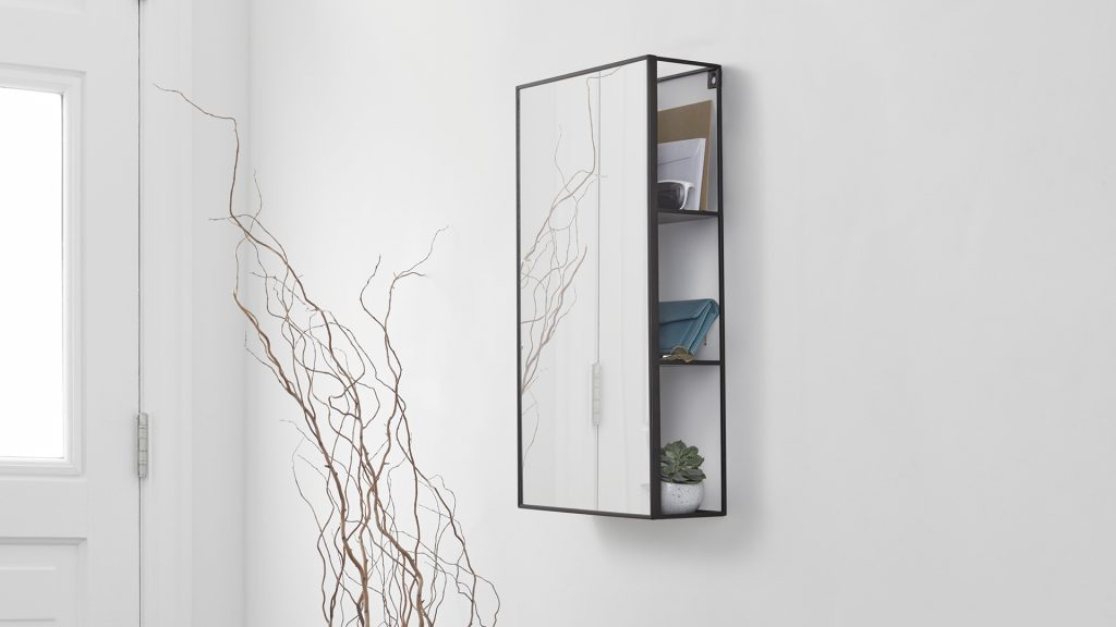 Mirror With Shelves Bathroom Mirrors Natural Bed Company
