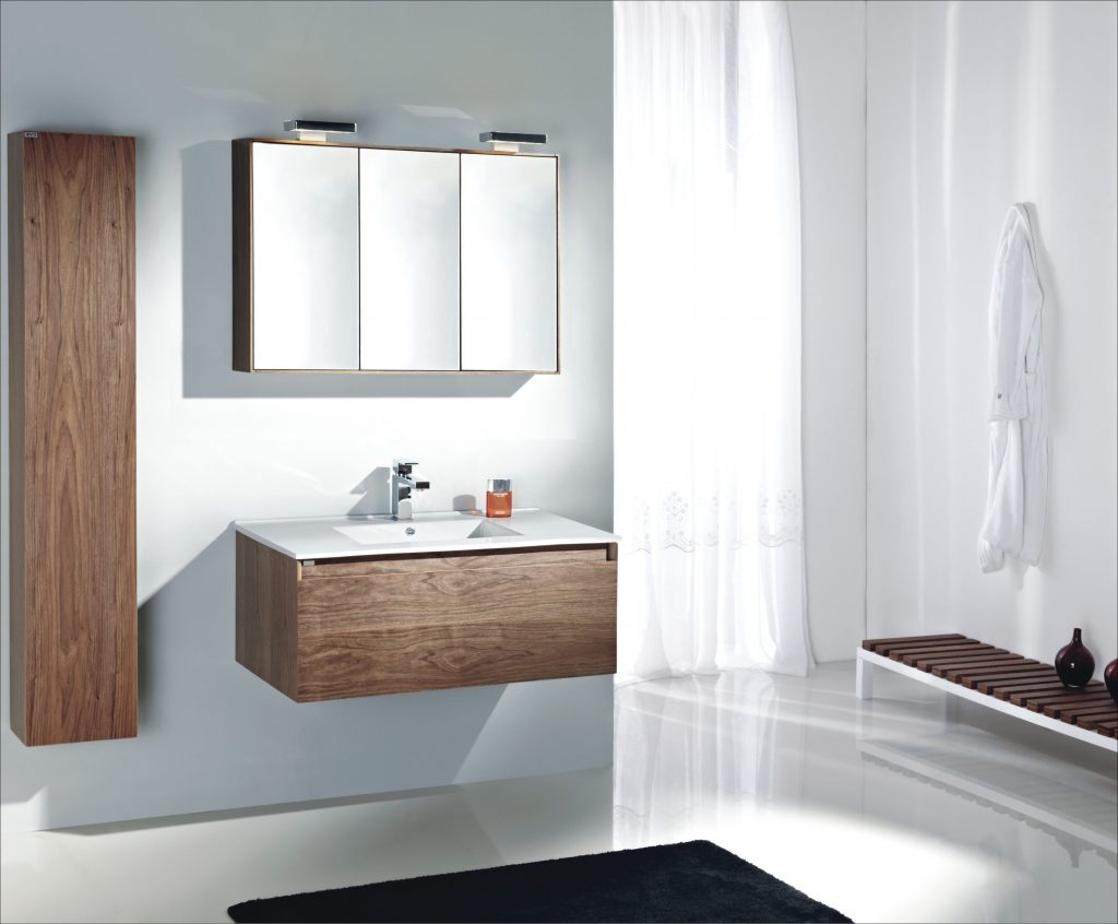 Modern Bathroom Vanities Ideas With White Small Single Sink The