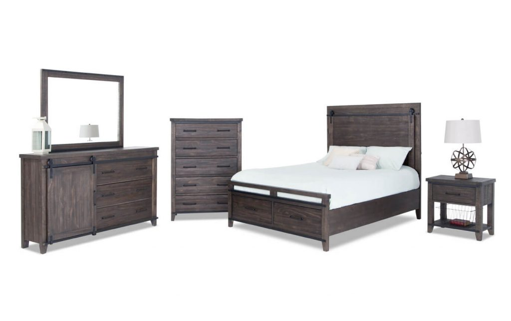 Montana Storage Bedroom Set Bobs Discount Furniture