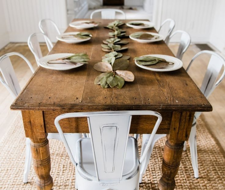 New Farmhouse Dining Chairs Farmhouse Everything Pinterest