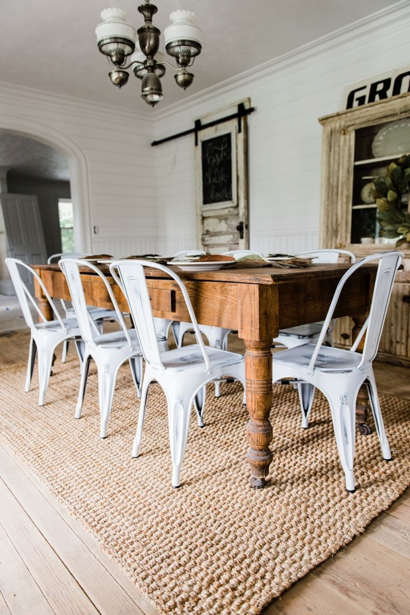 New Farmhouse Dining Chairs Liz Marie Blog Pinterest Dining