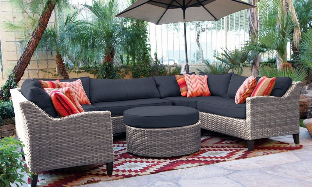 Oahu Outdoor Sectional Sofa With Ott The Dump Luxe Furniture Couch