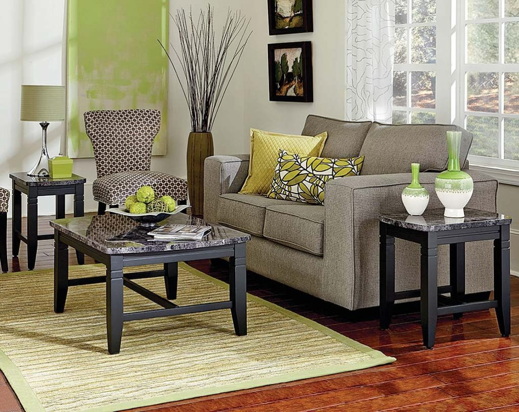 One Coffee Table And Two End Tables Boroughs 3 Piece Table Set