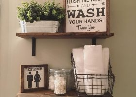 Bathroom Decor Shelves