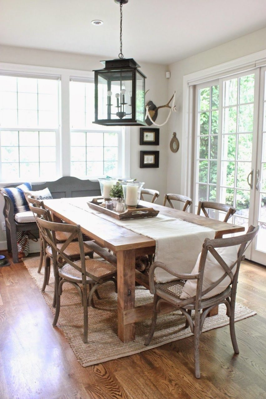 Our Homethe Spring Version Decor Pinterest Dining Room