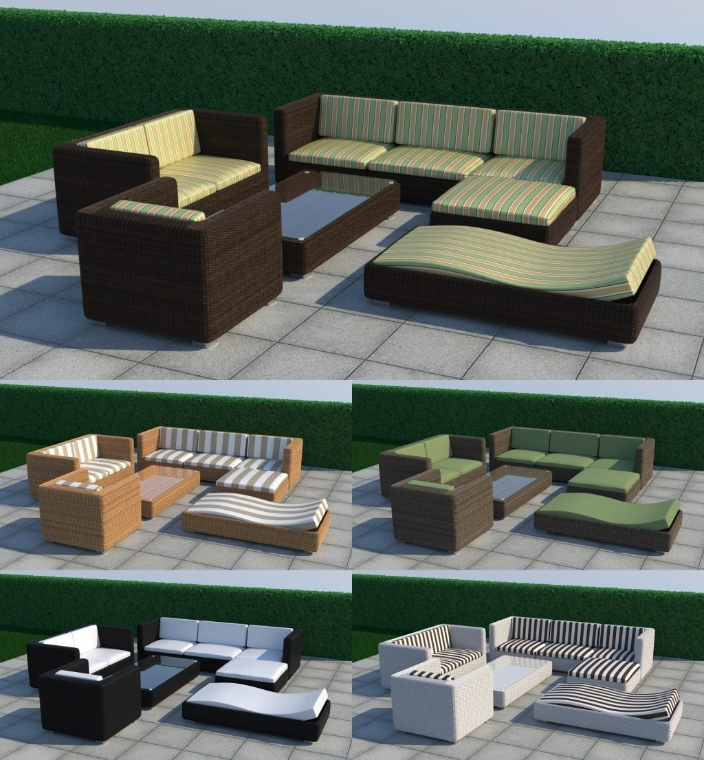 Outdoor Furniture Set Thea Render