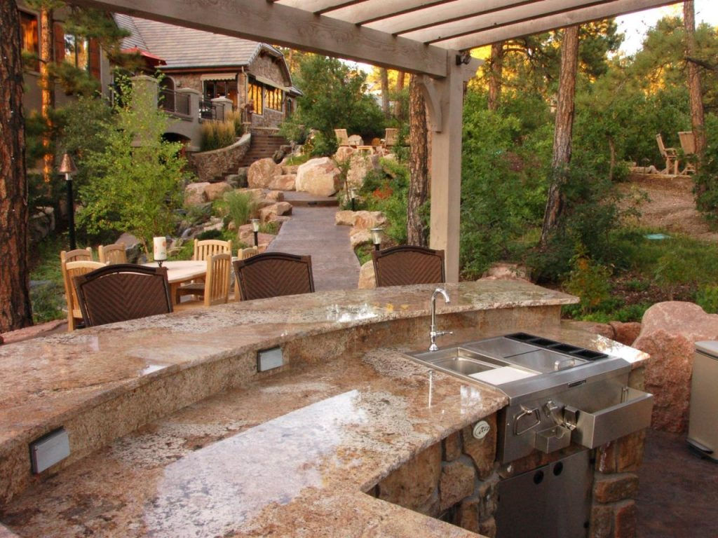 Outdoor Kitchen Island Grills Pictures Ideas From Hgtv Hgtv