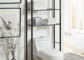 Bathroom Over The Toilet Shelf