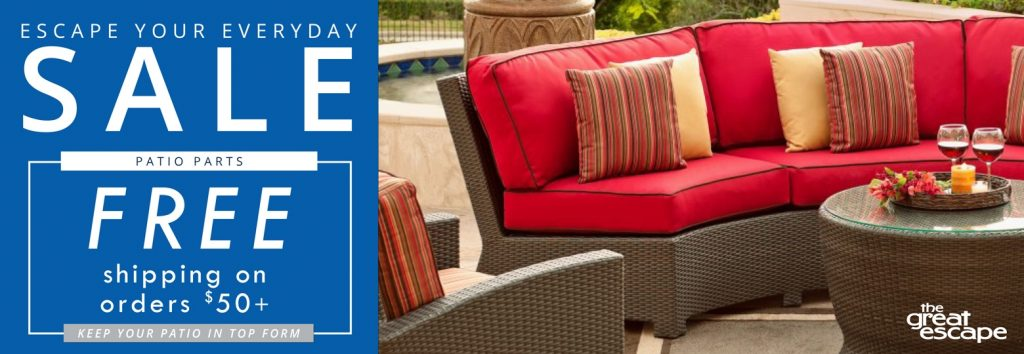Patio Furniture Outdoor Furniture Parts The Great Escape