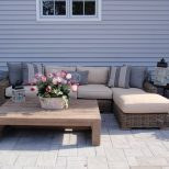 Patio Furniture Sectional Gray Home And Garden Decor Patio For Diy
