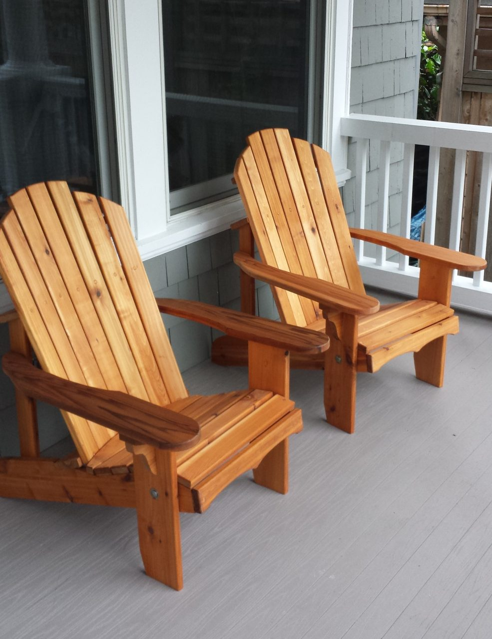 Porch Living With Adirondack Chairs Adirondack Chairs Seattle