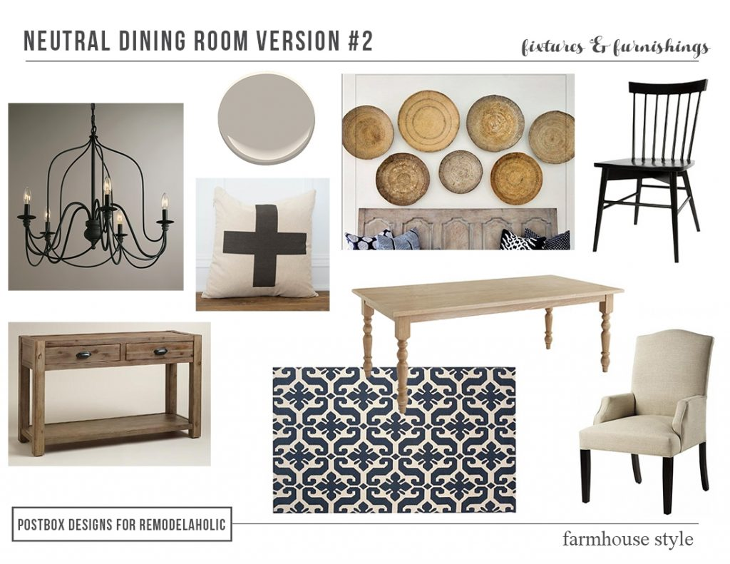 Remodelaholic High Low Farmhouse Dining Room Decor