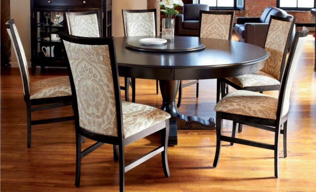 Round Dining Table Set With Leaf Castrophotos
