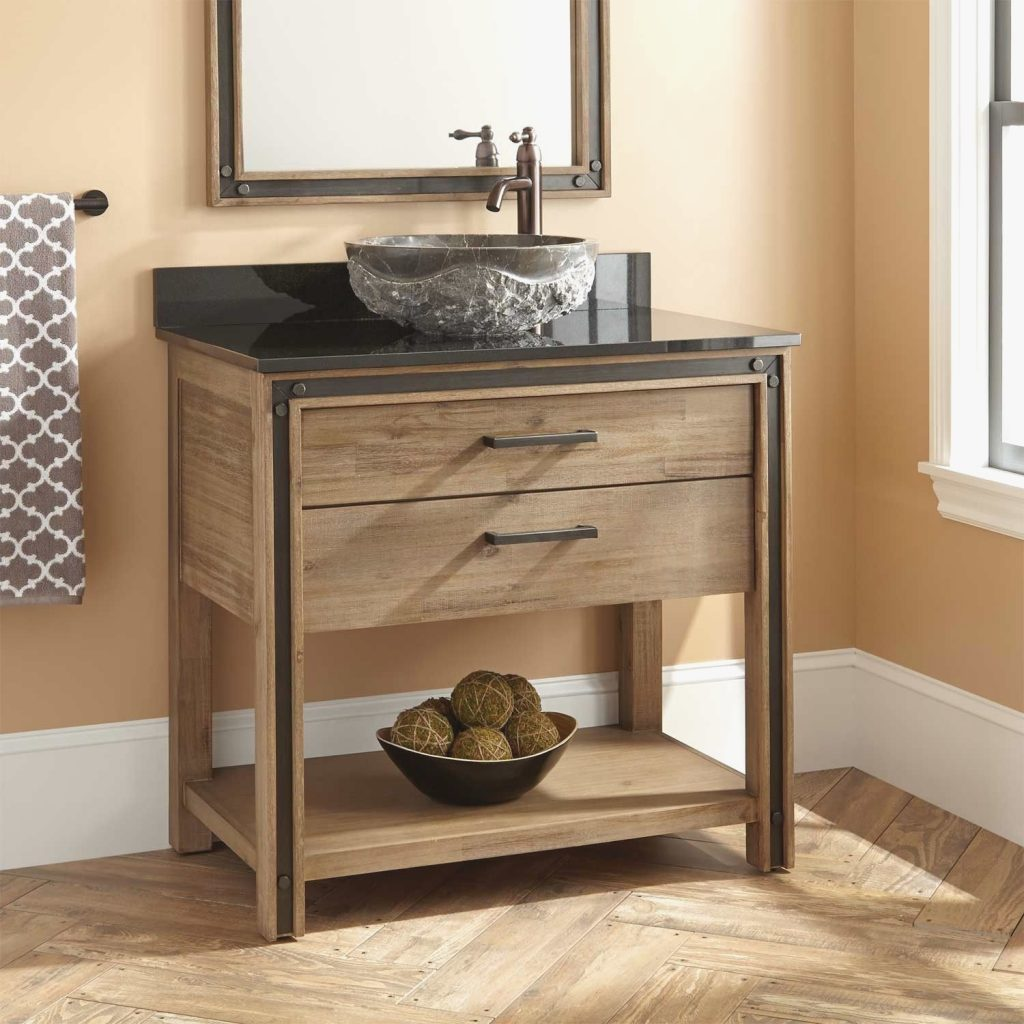 Rustic Bathroom Vanities And Cabinets Luxury An Organized Bathroom