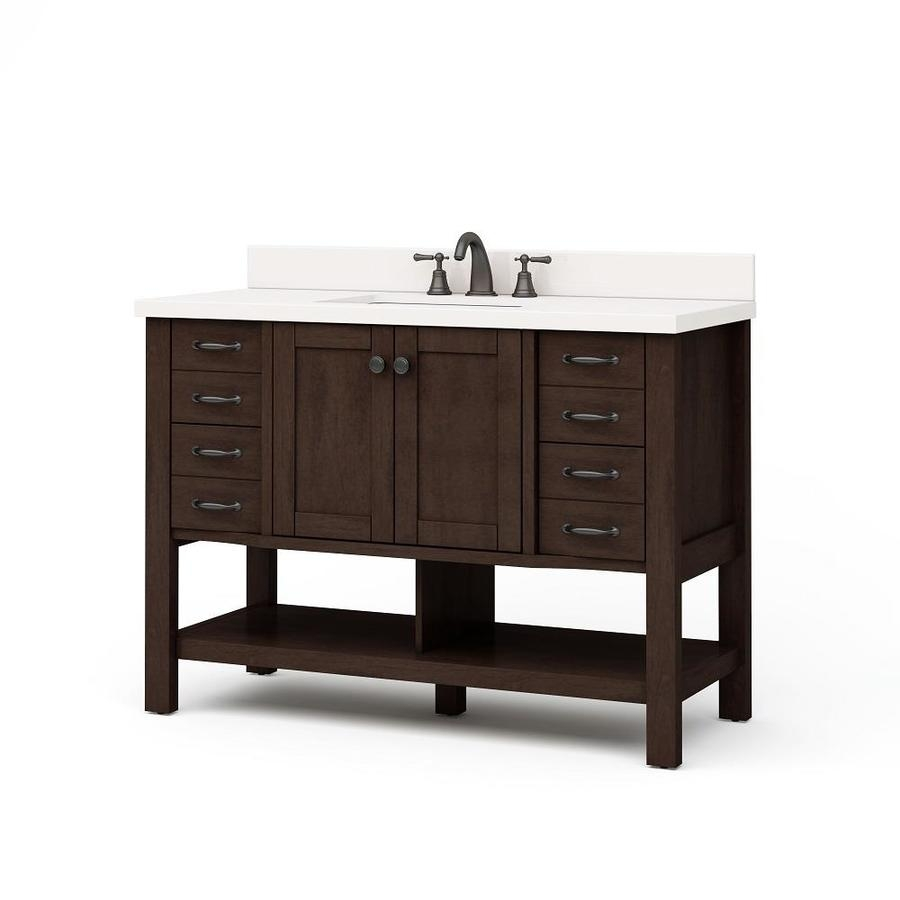 Shop Bathroom Vanities At Lowes