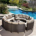 Shop Best Selling Home Decor Newton 10 Piece Wicker Frame Patio