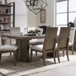 Shop Granada Hills Contemporary Pebblestone Dining Table On Sale