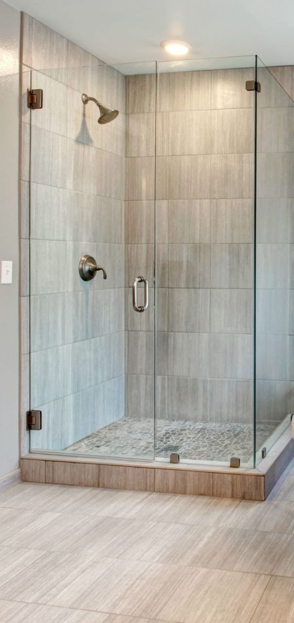 Showers Corner Walk In Shower Ideas For Simple Small Bathroom With