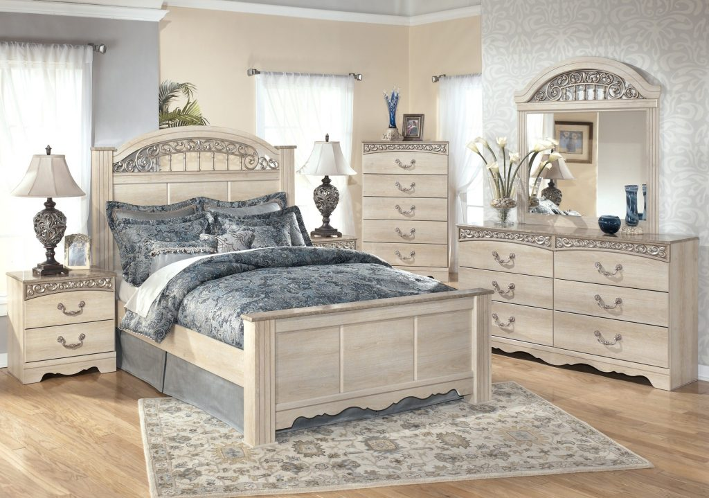 Signature Design Ashley Catalina Poster Bedroom Set Catalina