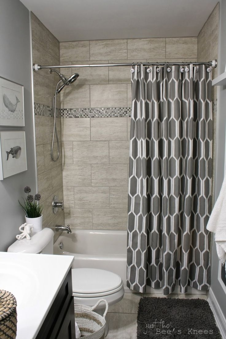 Small Bathrooms With Shower Curtains There Are Many Ways To