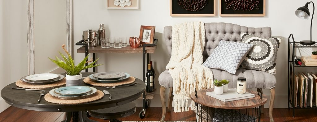 Small Space Livingdining Room At Home