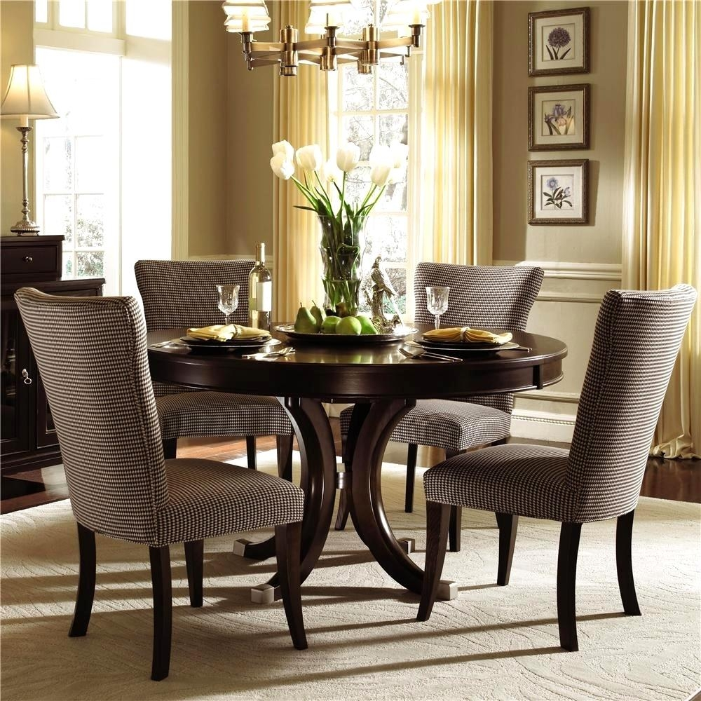 Smart Modern Cloth Dining Room Chairs Lowers Closed Tableware On