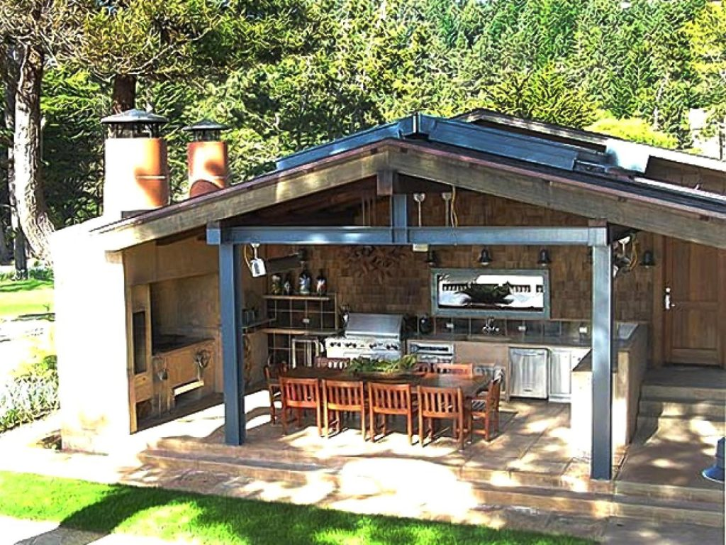 Smart Simple Outdoor Kitchen Designs N Outdoor Kitchen Diy Kitchen