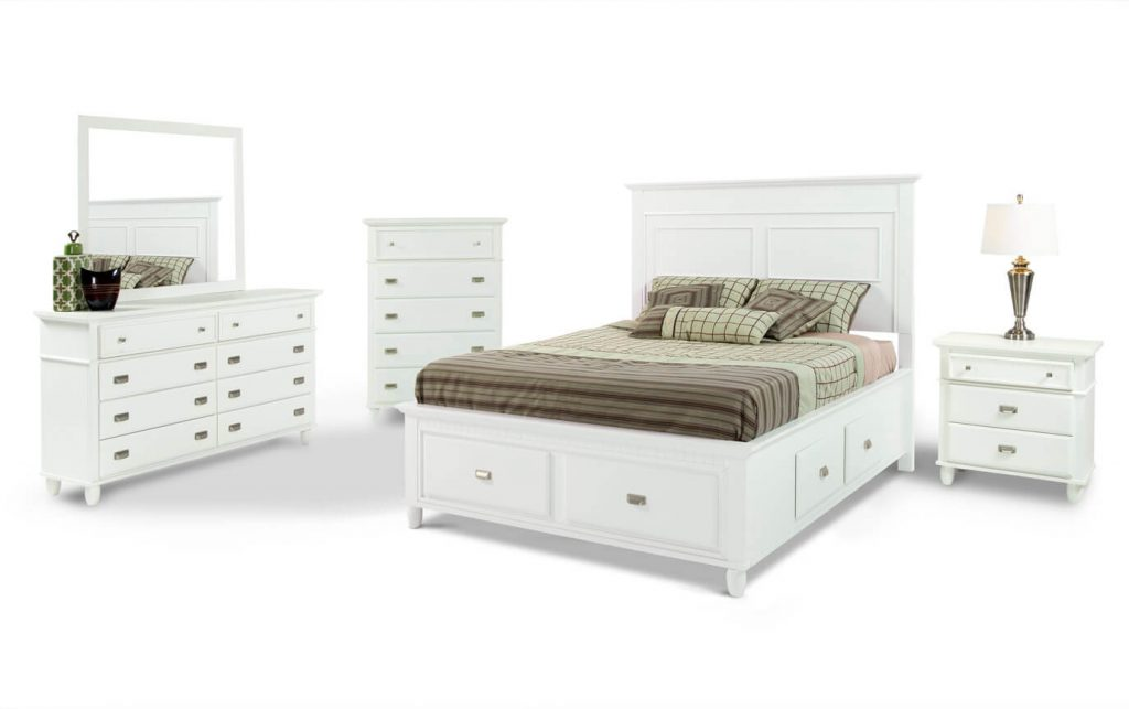 Spencer Storage Bedroom Set Bobs Discount Furniture