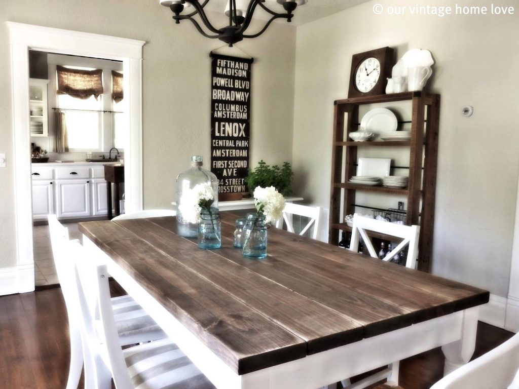 Splendid Design Ideas Modern Rustic Long Table Wooden Dining Room