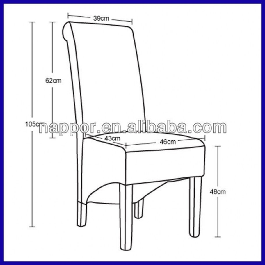 Standard Dining Room Chair Height Gorgeous Standard Dining Room