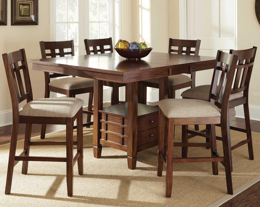 Steve Silver Bolton 7 Piece Counter Height Dining Set Northeast