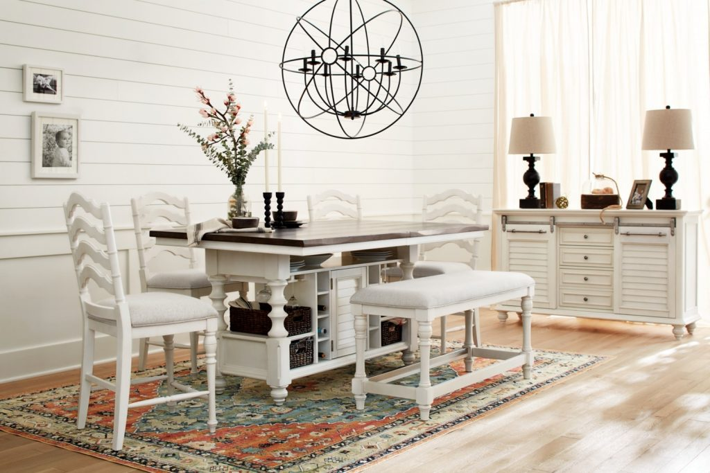 The Charleston Counter Height Dining Collection Value City