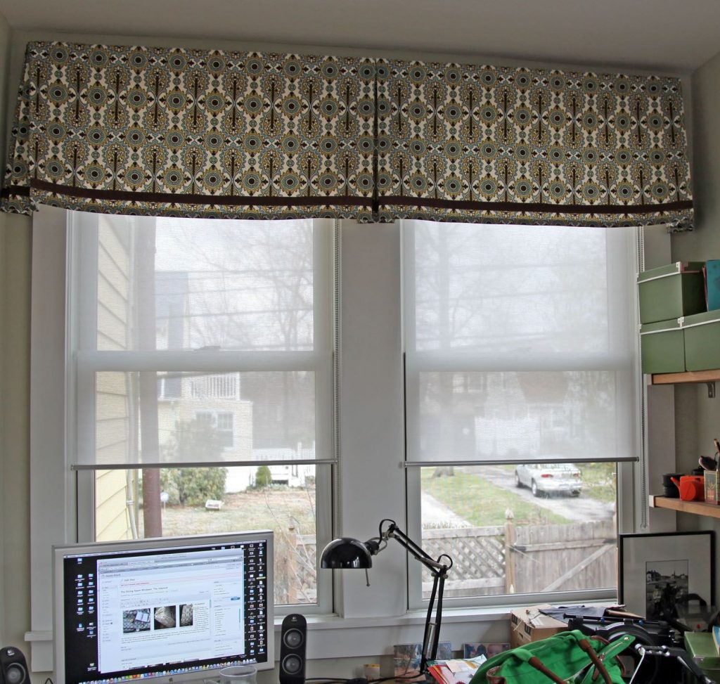 The Dining Room Windows The Valances Stately Kitsch Claires