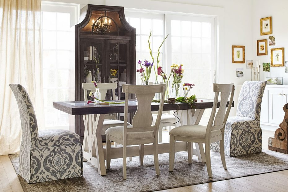 The Lancaster Farmhouse Dining Collection Value City Furniture And