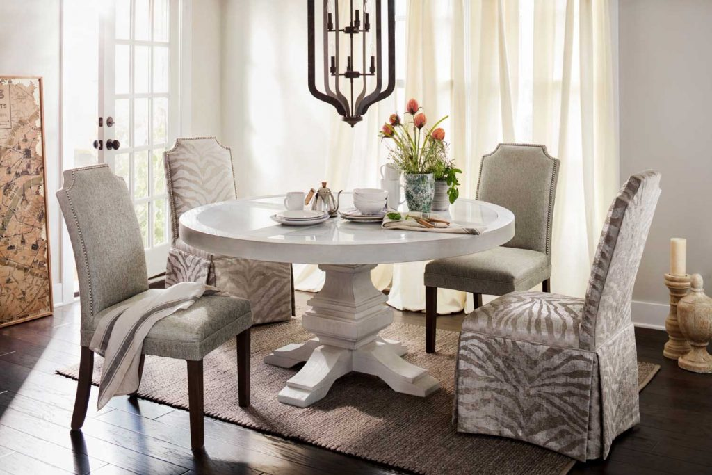 The Lancaster Round Dining Collection Value City Furniture And