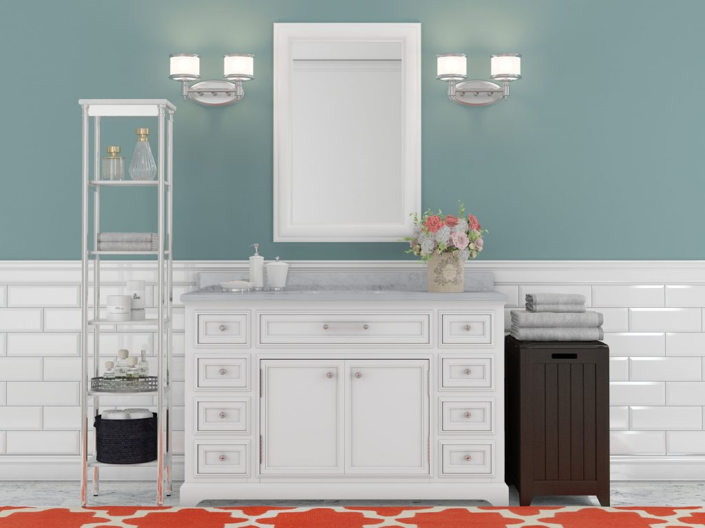 Three Posts Bergin 48 Single Sink Bathroom Vanity Set Reviews