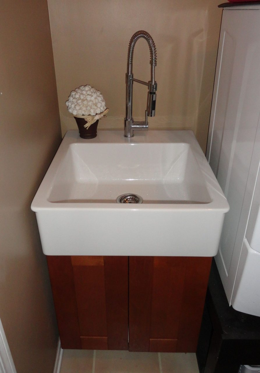 Utility Sink Sink And Cabinet From Ikea My House In 2018