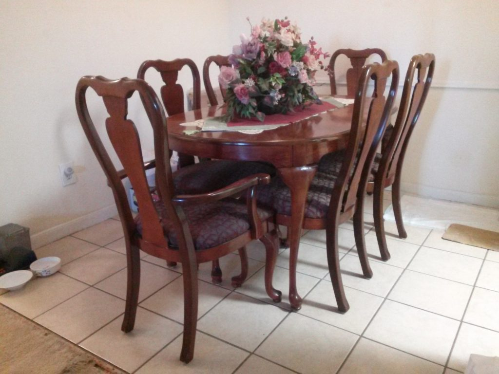 Vintage Queen Anne Dining Table Chairs Antique Appraisal