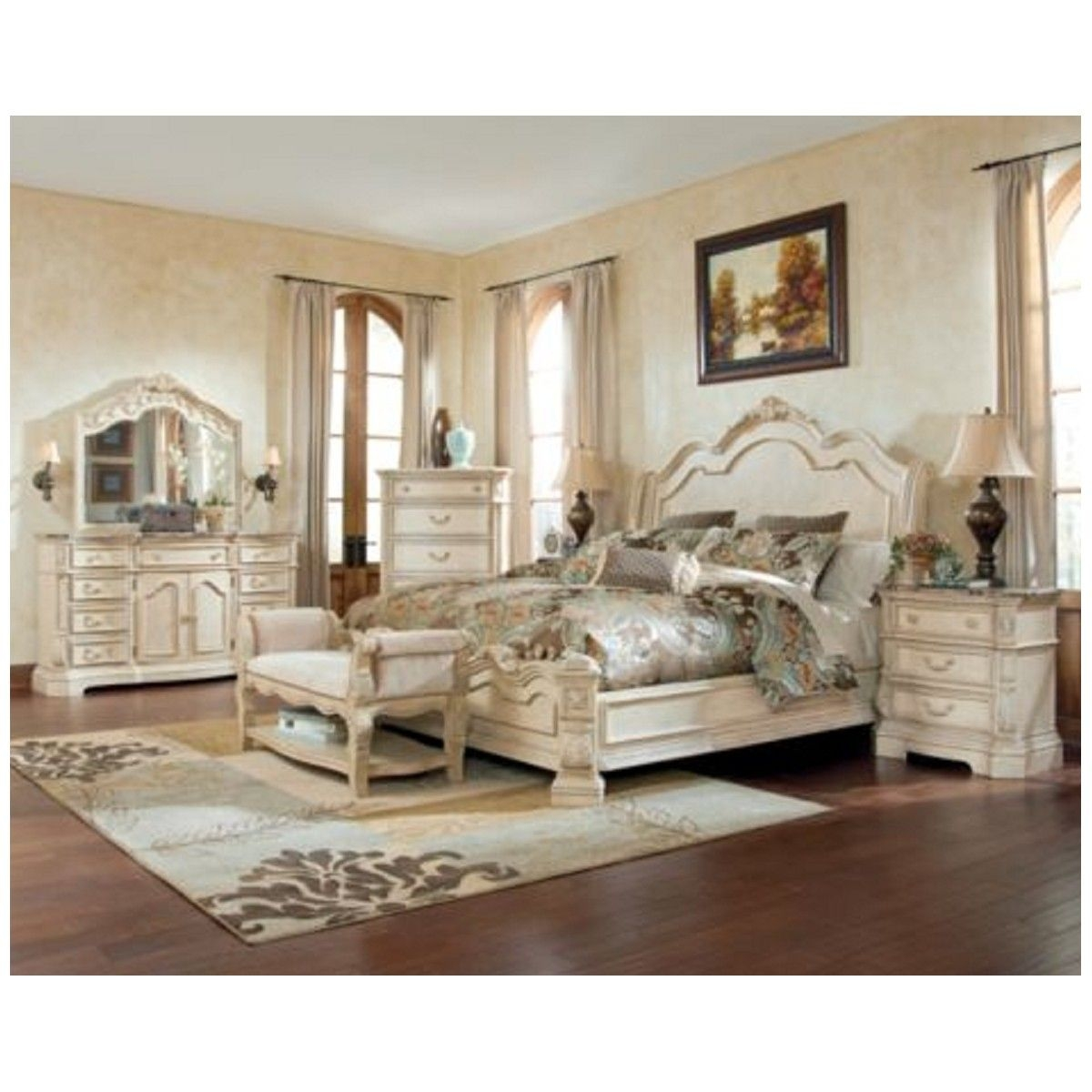 Picture of: White Ashley Furniture Bedroom Sets Ashley Bedroom Furniture In Layjao